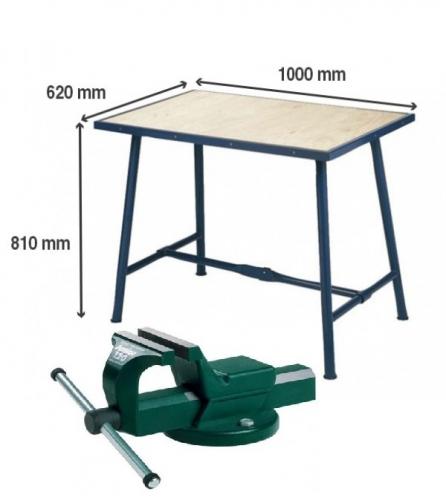 Montážní stůl Matador se svěrákem 120mm