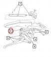 Ozubené kolo do ohýbačky CBC P22 a VIRAX 2501