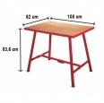 Ridgid Montážní stůl se svěrákem 120cm