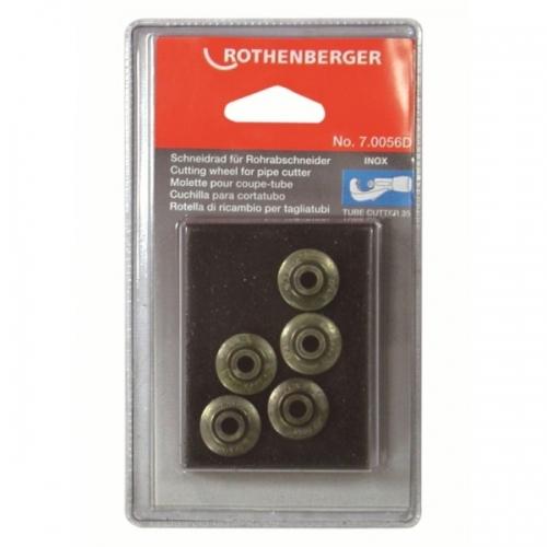 Rothenberger Řezné kolečko nerez (Inox) - (5ks)